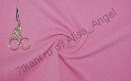 Розовая сухая роза рибана с лайкрой