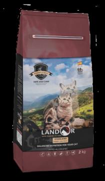 ЛАНДОР для кошек СТЕРИЛАЙЗД кролик с рисом (LANDOR STERILIZED & LIGHT)