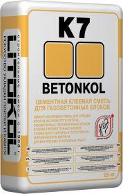 Клеевая Смесь для Укладки Блоков Litokol Betonkol K7 25кг Серая