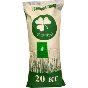 Смесь семян для газона Изумруд Коттедж, 20 кг - все для сада, дома и огорода!