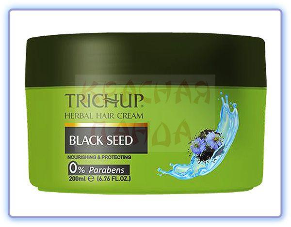 Крем для волос с Черным тмином Trichup Herbal Hair Cream Black Seed