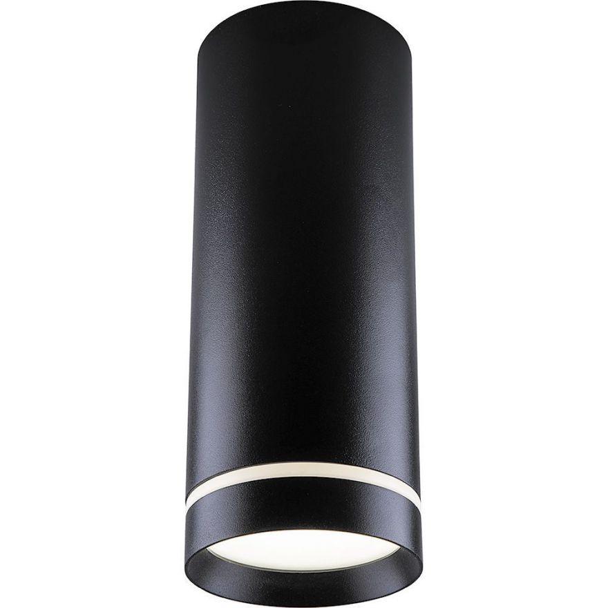 Светильник светодиодный Feron AL534 накладной 15W 4000K черный 80*200