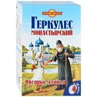 "Геркулес ""МОНАСТЫРСКИЙ"" овс. хлопья 500 гр"