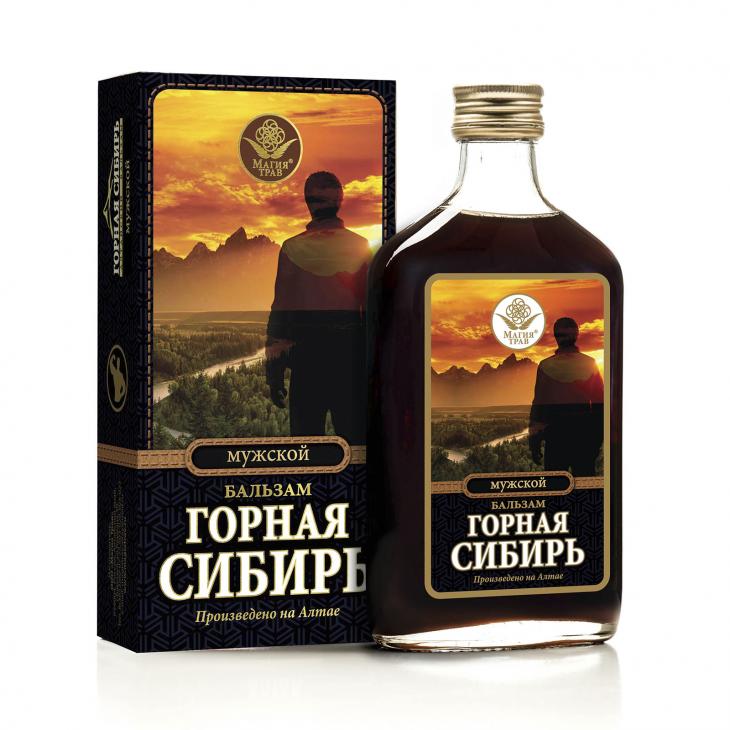 Бальзам мужской «Горная Сибирь»