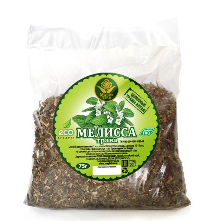Мелисса, трава