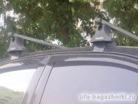 Багажник на крышу Toyota Avensis T25/T27, Атлант, прямоугольные дуги