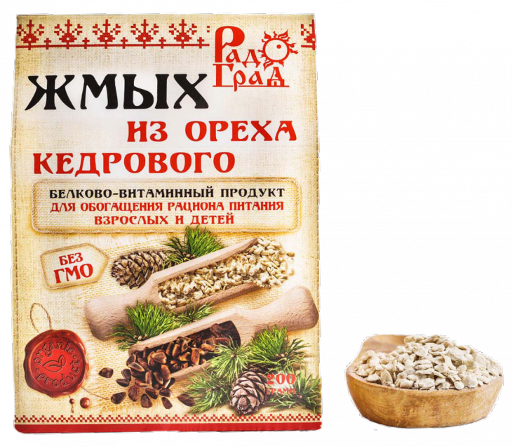Жмых ядра кедрового ореха