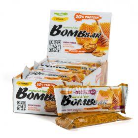 Протеиновый батончик Bombbar Грецкий орех с мёдом 60 гр
