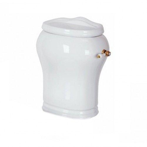 Migliore Milady керамический бачок для унитаза ML.MLD-25.708.BI ФОТО