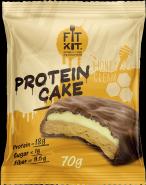 Fit Kit Protein Cake 70 гр Медовый крем