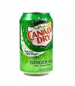 Напиток Canada Dry Малина 355 мл ж/б