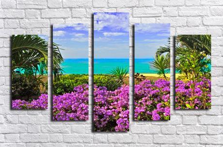 Модульная картина Пейзажи и природа 12