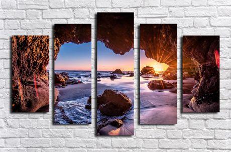 Модульная картина Пейзажи и природа 14