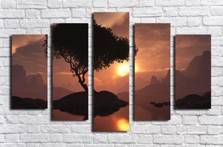 Модульная картина Пейзажи и природа 16