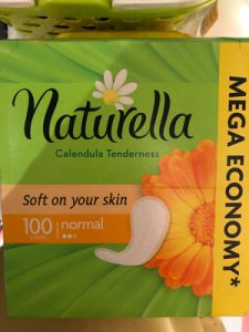 Прокладки NATURELLA на каждый день 20 шт Calendula Tenderness Normal Single