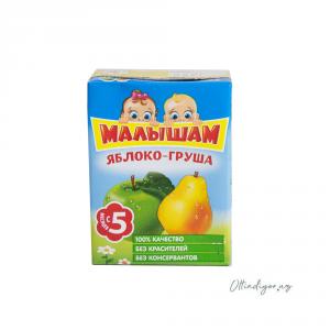 Нектар Фрутоняня Малышам 0,125 л Яблоко-Груша неосветл (Прогресс)