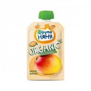 Пюре Фрутоняня манго натур Органик 0,09 кг