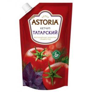 Кетчуп Татарский с доз 330гр дой пак Астория