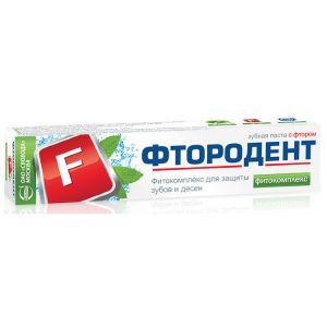 З/п Фтородент фитокомплекс в лам.тубе 62гр.