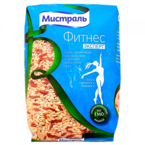 Рис Фитнес Эксперт 450 гр Мистраль