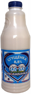 Молокосодержащий продукт сгущенный с сахаром 730гр ТМ Любавинка