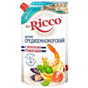 Кетчуп Mr.Ricco 350гр Средиземноморский с вялеными томатами д/п