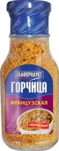 Горчица Франц. зернистая 175 гр с/б Глав.продукт