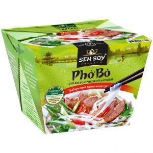 Лапша рисовая суп pho bo 125 гр Сэнсой Премиум