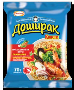 Лапша Квисти 3 морепродукты 70 гр