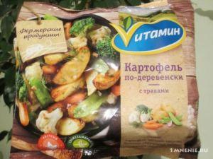 Картофель по-дерев. с травами с/м 400г Ферм.Продукты Vитамин Россия