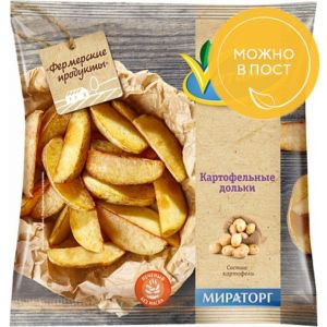 Картофельные дольки 600 гр (Vитамин)