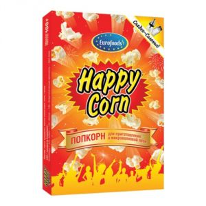 Попкорн Happy Corn 100 гр Соленый
