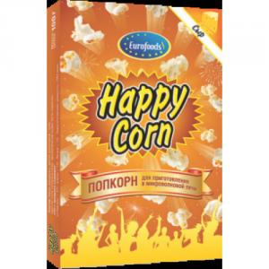 Попкорн Happy Corn 100 гр Сырный м/у