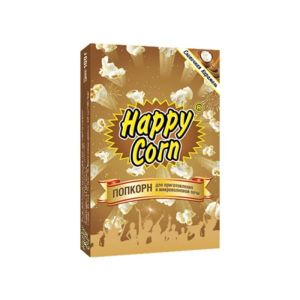 Попкорн Happy Corn 100 гр Сливочная Карамель м/у