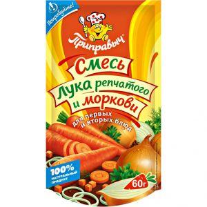 Приправа Смесь лука и моркови 60г дой-пак