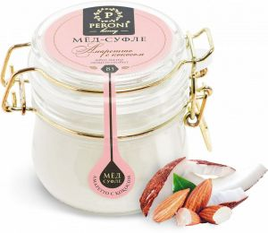 Мёд-суфле Молочный цветок 220г Peroni Honey