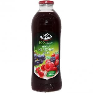 Нектар лесные ягоды с фруктозой Arshani 1л стекло