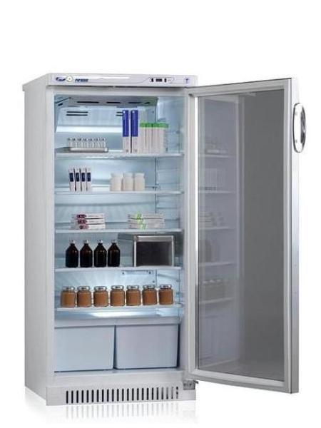 Фармацевтический холодильный шкаф Pozis ХФ-250-3 тонированние стекло