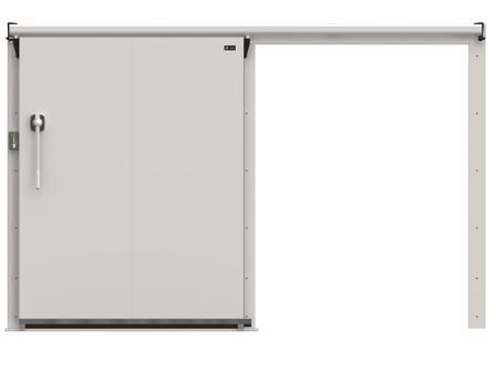 Дверные блоки Ирбис ОД(КС)-1200.2000 низкотемп. (120 мм)