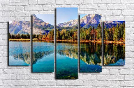 Модульная картина Пейзажи и природа 91