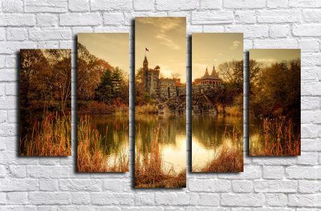 Модульная картина Пейзажи и природа 92