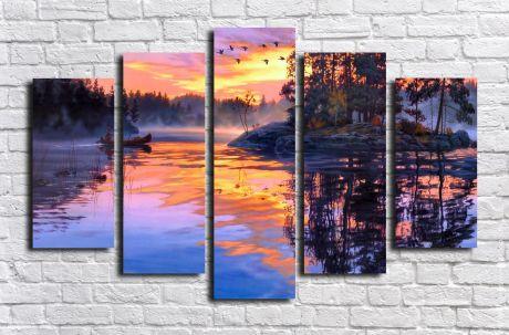 Модульная картина Пейзажи и природа 94