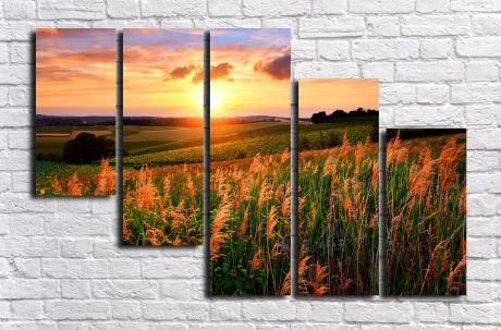 Модульная картина Пейзажи и природа 141
