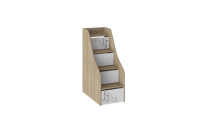 Лестница приставная «Оксфорд» с ящиками