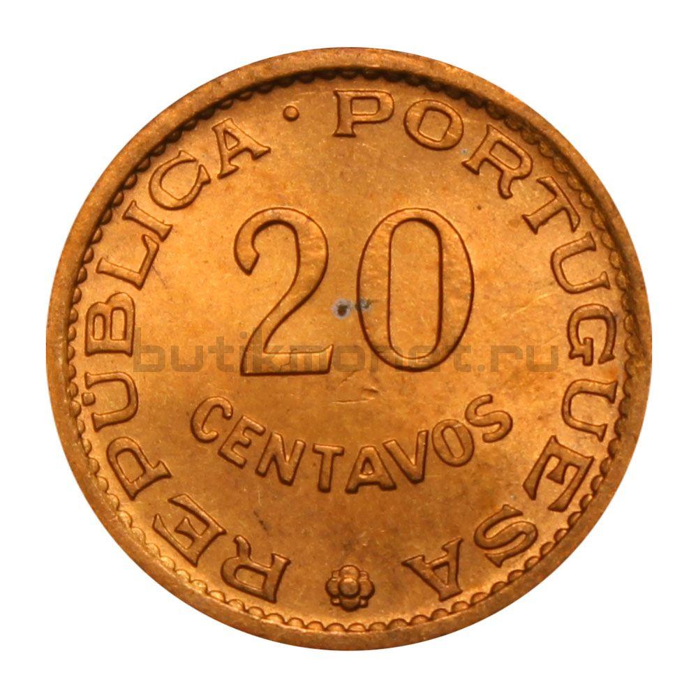 20 сентаво 1971 Сан-Томе и Принсипи
