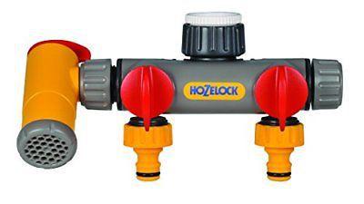 Разделитель потоков HoZelock 2250 Flow Max 2х канальный с краном