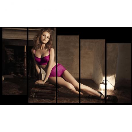 Модульная картина Красота и знания