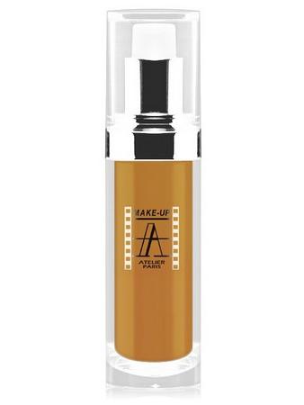 Make-Up Atelier Paris Fluid Foundation Ocher FLW6O Metiss 1 Тон-флюид водостойкий 6O смешанная кожа (светлый метис)