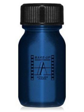 Make-Up Atelier Paris Aquacream AQBL Blue Акварель жидкая кремовая синяя
