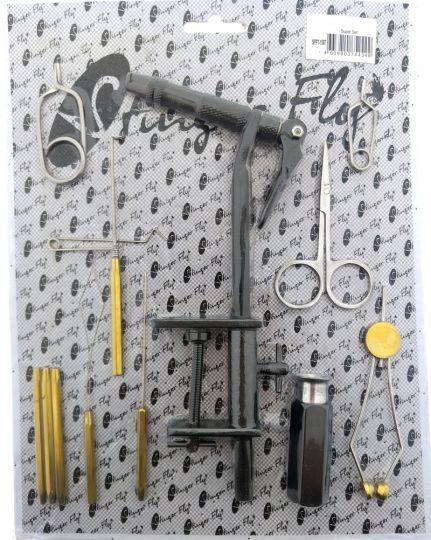 Набор инструментов для вязания мух на блистере 1507 Super Set (Индия)
